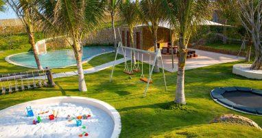 khu vui chơi dành cho trẻ em tại khách sạn dành cho gia đình