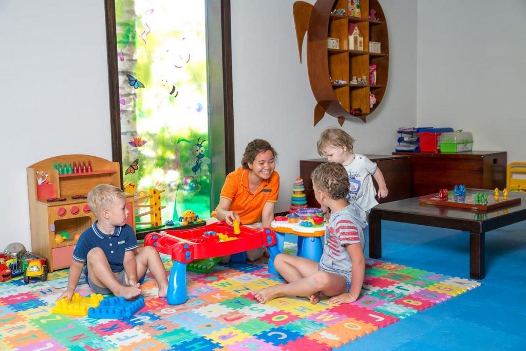 khu vui chơi cho trẻ em tại amiana resort